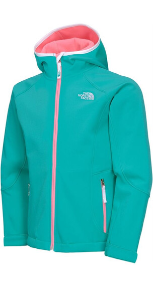 The North Face Girls' Softshell Jacket Jaiden Green (H8E)